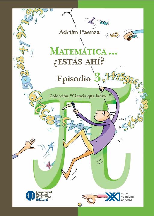 Matemática, ¿estás ahí? vol. 3,14